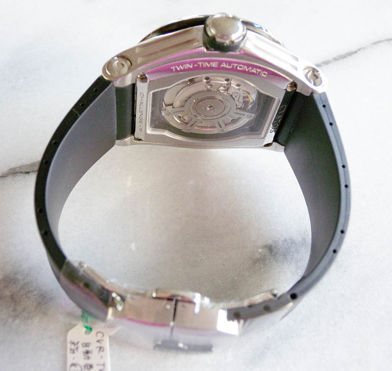 クストス チャレンジR ツインタイム CVSTOS CVR-TW-BC THE TIME KEEPER CHALLENG-R  TWIN - TIME
